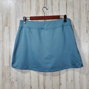 Title Nine Womens Athletic Skirt Skort M Blue